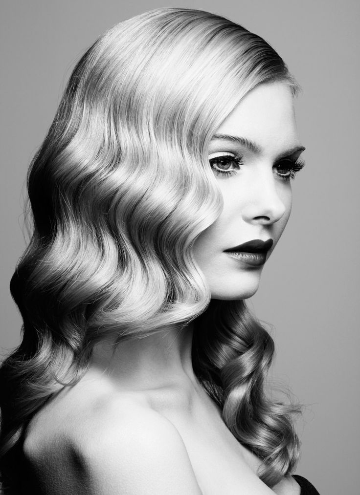 Marcel Wave Hairstyle