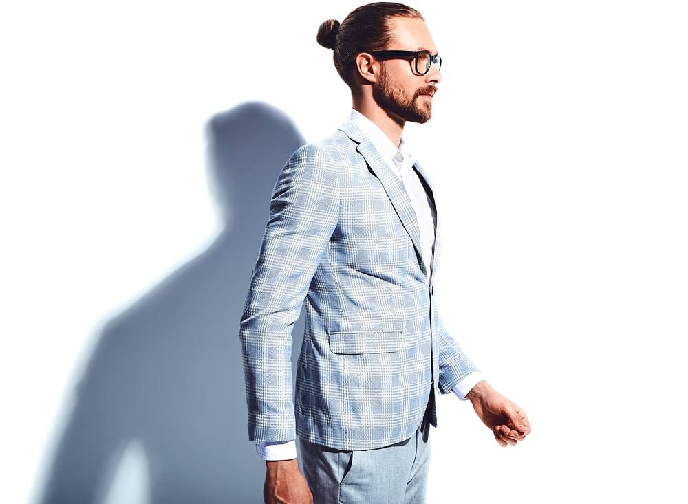 How to style the man bun